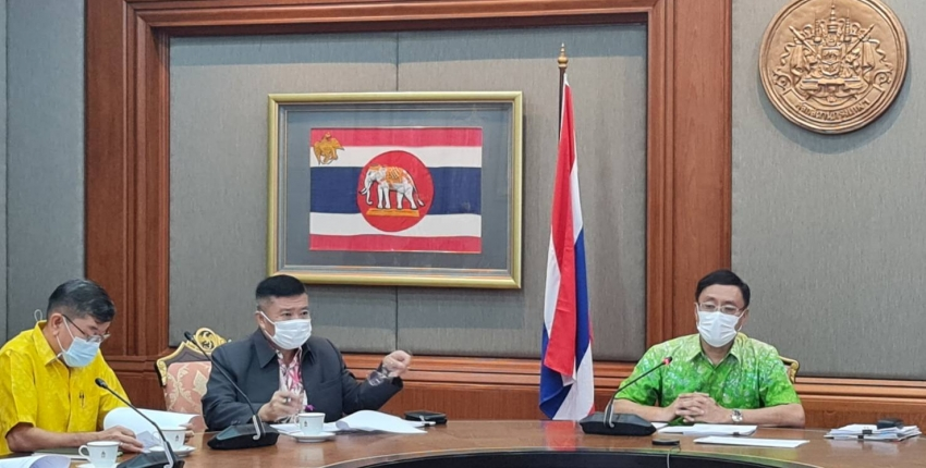 Deputy Director-General of Customs presided over a meeting to discuss guidelines for collaboration between the Customs Department and the Thailand Post Co.,Ltd.